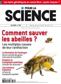 comment sauver les abeilles magazine pour la science 379. Black Bedroom Furniture Sets. Home Design Ideas