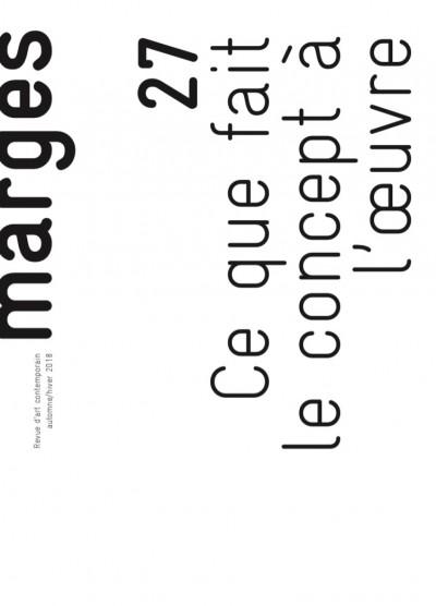 MARGES - REVUE D'ART CONTEMPORAIN