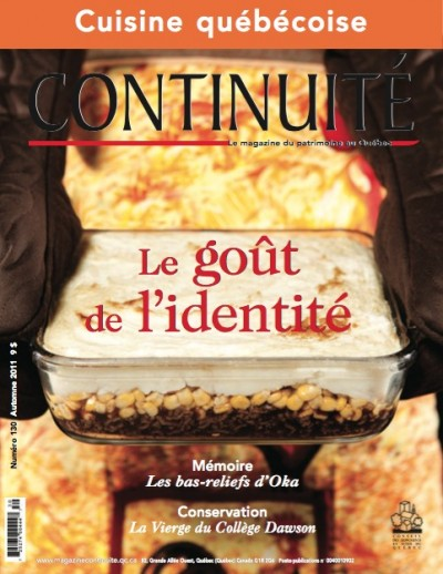 Cuisine qu b coise magazine continuit 130 for Cuisine quebecoise